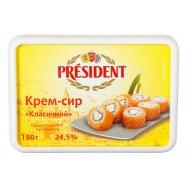 Крем-сыр President Клас 24,5% 180г - Фото