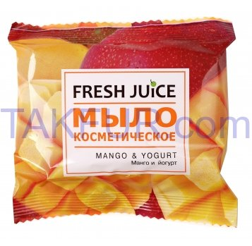 Мыло Fresh Juice Манго йогурт космет 75г - Фото