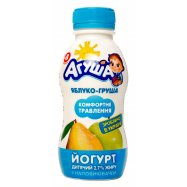 Йогурт 2,7% Агуша Яблок-груша 200г - Фото