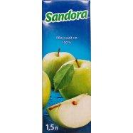 Сок Sandora Яблочный 1,5л - Фото
