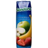 Нект Sandor Банан-ябл-клубн 0,95л - Фото