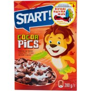 Завт сух Start Cocoa Pics 280г - Фото