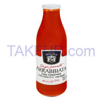 Соус Tenuta Fragassi Arrabbiata томатный острый 500г - Фото