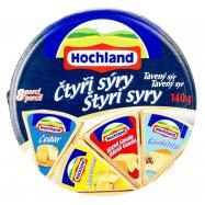 Сыр Hochlald Четыре сыра плавл 8шт 140г - Фото