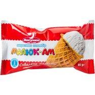 Мороженое Малюк-Ам Пломбир Ласунка 80г - Фото