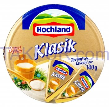 Сыр Hochwald плавленый сливочный 45% 140г - Фото