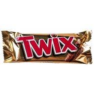 Печенье Twix песочное с карамелью 50г - Фото