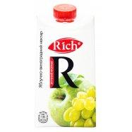 Нектар Яблочно-виноградный Rich 0,5л - Фото