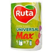 Полотенце бумаж Ruta Max белое 1шт - Фото