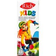 Нектар Rich Kids Ябл вин ряб мал 0,2л - Фото