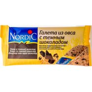 Галеты Nordic из овса темн шокол 30г - Фото