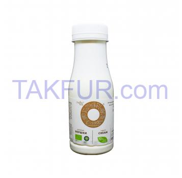 Сливки Organic Milk питьевые органические 10% 180г - Фото