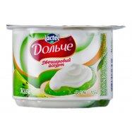 Йогурт Lactel Дольч двух Киви 115г - Фото