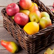 Сезонный фруктовый набор мини - Фото