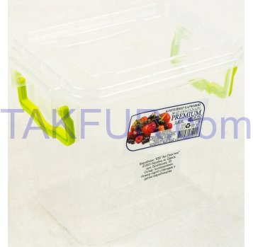 Контейнер Ал-Пластік Premium №2 пищевой 1,4л - Фото