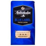 Кофе Ambassador Blue Label жар мол 250г - Фото