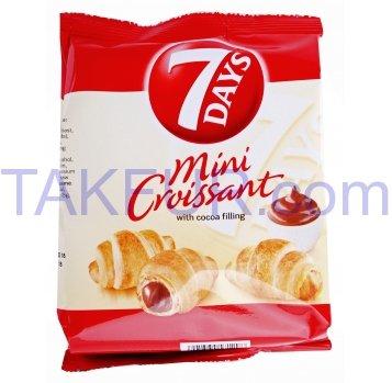 Мини круассаны 7Days с кремовой начинкой какао 60г - Фото