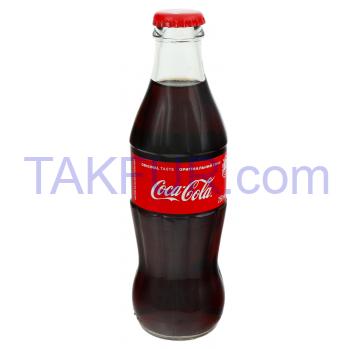 Напиток Coca-Cola б/а с/газ 250мл - Фото