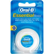 Зубная нит Oral-B Essent floss мятн 50м - Фото