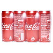Напит Coca-Cola б/а сильно/газ ж/б 0,33л - Фото