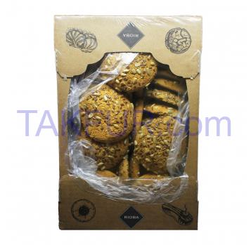 Печенье Rioba овсяное 1.3кг - Фото