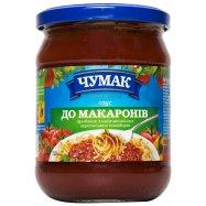 Чумак Соус К макаронам стекло 500г - Фото