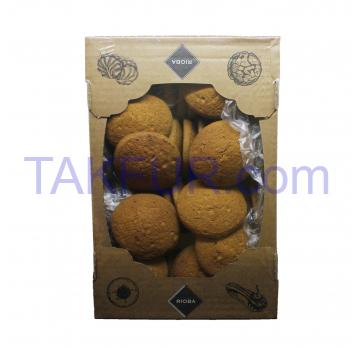 Печенье Rioba Овсяное с Солодом 1.5кг - Фото