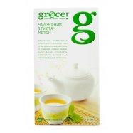 Чай Gr@ce! зеленый мелис 1,5г*25шт 37,5г - Фото