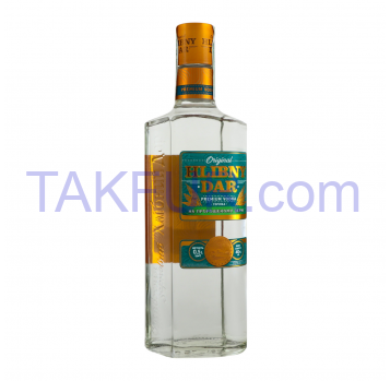 Vodka Hlibny Dar On sprouted grains 40% 0.5l - Фото