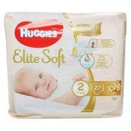 Подгузники El Soft 2р 4-6кг Huggies 27шт - Фото