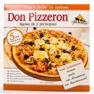 Пицц Три ведмеді Don Piz салям гриб 350г - Фото