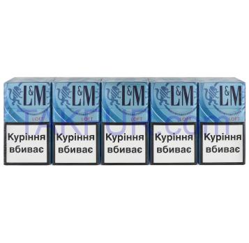 Сигареты L&M Loft Sea Blue 20шт/уп - Фото