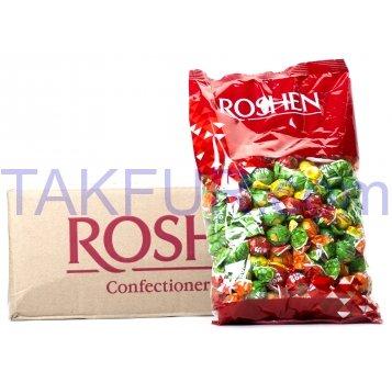 Карамель Roshen Бим Бом с фруктово-ягодной начинкой 1кг - Фото