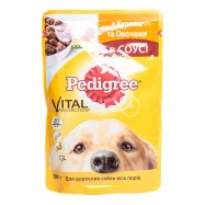 Корм Pedigree Vital Prot кур овощ 100г - Фото