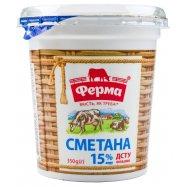 ФЕРМА СМЕТАНА 15% СТ 350Г - Фото