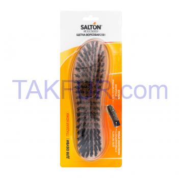 Щетка Salton ворсовая для обуви из гладкой кожи 1шт - Фото