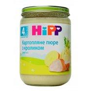 Картофельное пюре HiPP кролик 190г - Фото