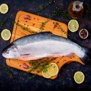 Охлажденный лосось 1-2 кг - Фото