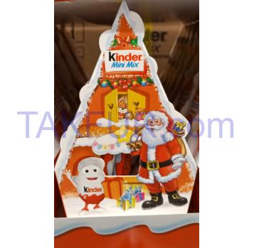 Набор Kinder Мini Mix Новогодний 85г - Фото