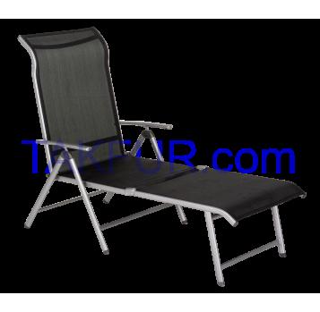 Лежак Aro текстильный серый - Фото