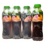Чай черный персик-роза Fuzetea 500мл - Фото