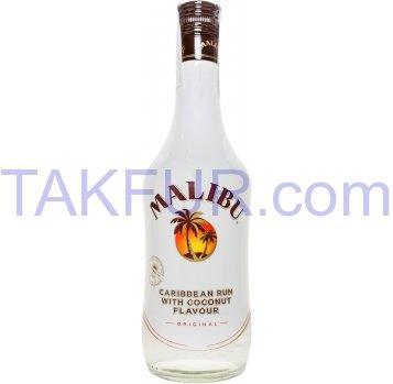 Ликер Malibu со вкусом кокоса 21% 0,5л - Фото