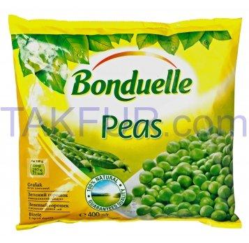Горошек Bonduelle зеленый замороженный 400г - Фото
