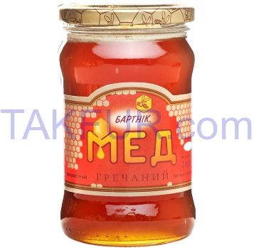 Мед Бартнік натуральный гречишный 400г - Фото
