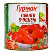 ГУРМАН ТОМАТИ ОЧИЩ У В/С 2600Г - Фото