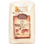 Рис басмати Индия World's Rice 1кг - Фото