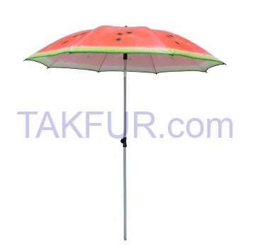 Зонт пляжный Tarrington House арбуз 2м - Фото
