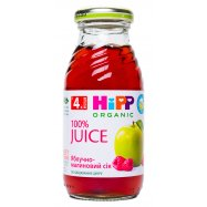 Сок HiPP ябл-малин с 4-х мес 0,2л - Фото