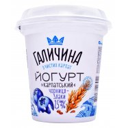 Йогурт Галич Черн-злаки 2,5% 280г - Фото