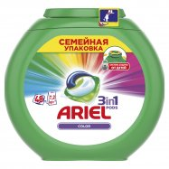 Средство моющ Color капс Ariel 48шт*27г - Фото